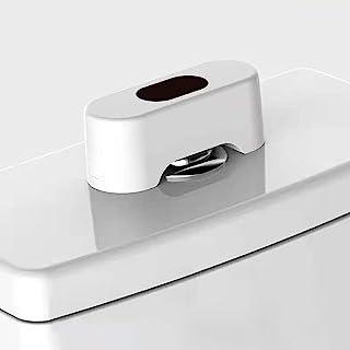 无触摸式马桶冲洗套件,自动马桶冲洗套件,适用于按钮式马桶,防水,感应范围为 5 英寸(约 12.7 厘米),无触摸洗手间传感器