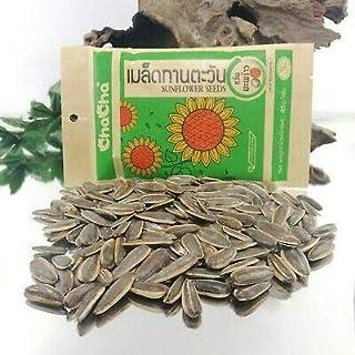 CHA 向日葵咸味种子(每包 12-7 盎司),(甜瓜味)(18 克X12)