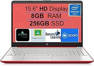 2021 *新的 HP 15 15.6 英寸高清显示屏笔记本电脑笔记本电脑,Intel Pentium Gold 6405U 2.4 GHz,8GB DDR4 内存,256GB SSD,HDMI,USB-C,WiFi,网络摄像头,Win10,S...