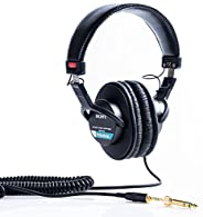 SONY 索尼 MDR-7506 封閉式頭戴 監聽耳機 黑色
