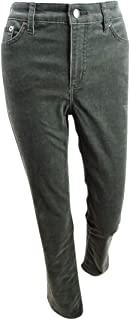 Lauren Ralph Lauren 女士高级灯芯绒中腰直筒裤* 14 码