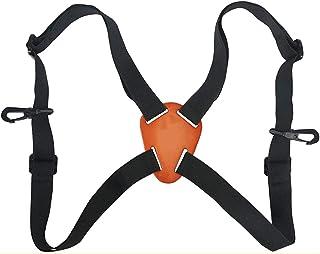Ismeally X 形双筒望远镜束带可调节双筒望远镜肩带载体弹性耐用肩带光学配件适用于双筒望远镜测距仪相机数码单反相机