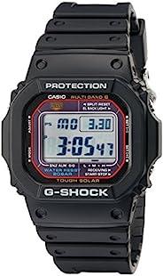 Casio 卡西欧男士硬朗太阳能黑色树脂运动手表 G - Shock GW 5610 - 1