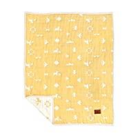 BOBO 棉×羊毛 6层纱布毯(宝宝尺寸) 8572