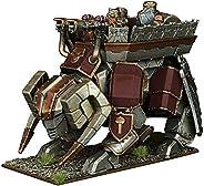 Mantic Games MGKWD401 Dwarf Steel Behemoth 微型游戏,多色