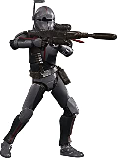STAR WARS 黑色系列 Bad Batch Crosshair 玩具 6 英寸/约15.24厘米比例星球大战:克隆战争收藏公仔,适合 4 岁及以上儿童