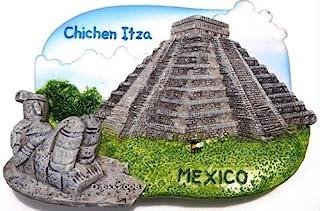 Chichen Itza Mexico,高品质树脂 3D 冰箱贴