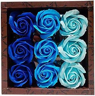 九州花朵服务 花朵形状沐浴露 玫瑰香水9轮装 玫瑰B 753237