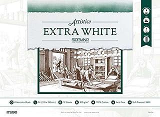 Muse 水彩纸 Extra White Block 细纹 F4 12片装 FX-4704