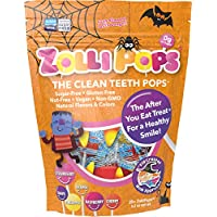 Zollipops Halloween Clean Teeth Lollipops, Assorted Flavors, 10.4 Ounce