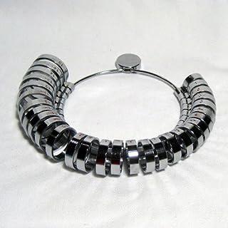 戒指尺寸测量珠宝商手指尺寸珠宝工具 1 至 15 宽金属工具 我们| 戒指尺寸测量工具 | 戒指尺寸工具环测量工具 | 金属戒指尺寸腰带
