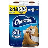 charmin 超软柔软辅助 Touch 厕纸 24份 24