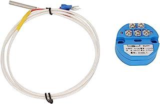 温度计和天气仪器 - 50~400 度 PT100 温度传感器 DC24V 输出 0-10V 传感器