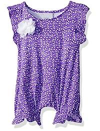 Flap Happy Baby 女童 Seraphina 飘边袖连体衣带按扣开裆