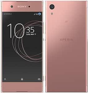Sony 索尼 Xperia XA1 Factory Unlocked,32GB,23MP,5英寸显示屏,GSM,国际版,无保修 -SNE-G3116-32GB-PNK 粉红色