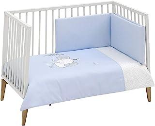 Be 45706 套装 2 件。被子盖 60 Be Zoe 蓝色 100 x 140 厘米,蓝色 1830 克