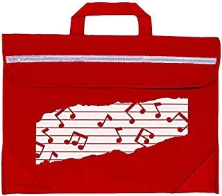 Mapac MP11310-RD Duo 音乐包,带图案 - 红色