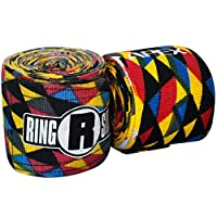 Ringside Apex Muy Thai MMA Kickboxing Training Boxing Hand Wraps (Pair)