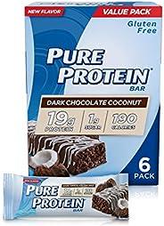 Pure Protein Bar - Dark Chocolate Coconut - 50 grams - 1 Case
