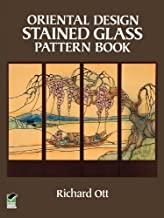 Oriental Design Stained Glass Pattern Book (Dover Stained Glass Instruction) (English Edition)