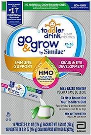 Similac 雅培 Go & Grow 幼儿牛奶基础配方饮品,含 2'-FL HMO,条装粉末,每条1