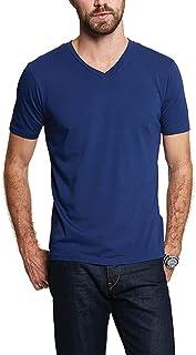GOODLIFE 男式 Supima 经典 V 领 T 恤 | *柔软、*轻便的 V 领 美国制造