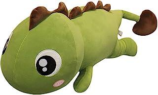 AUCOOMA 恐龙儿童毛绒枕头,填充动物毛绒玩具(*棕色 23.6 英寸)