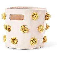 Pehr 收纳盒 储物用 [対象] 0ヶ月 ~ Marigold S(直径20cm×高さ18cm )