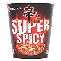 NONG SHIM Instant-Cup-Nudeln, sehr scharf (Red Shin Ramyun),  68 gr