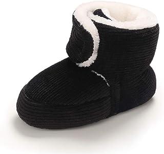 LAFEGEN 婴儿男童女童拖鞋防滑软底新生儿靴学步儿童学步鞋 0-18 个月