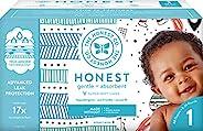 The Honest Company Club Box 尿布采用 TrueAbsorb 技术,Teal Tribal & Space Travel,1 号,