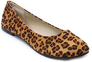 女式经典圆头一脚蹬平底芭蕾舞裙舒适低跟鞋模具