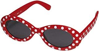 太阳镜 幼儿时尚太阳镜 OVAL 点红色