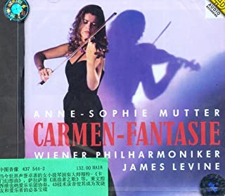 进口CD:穆特演奏的小提琴名曲(437 544-2)