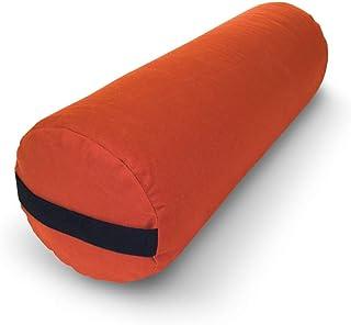 Best 瑜伽垫矩形圆形 pranayama SUPPORT 靠垫冥想 zafu 按摩道具有机棉棉质 HEMP yoga Studio 乙烯基–3形状–美国制造 bean 产品