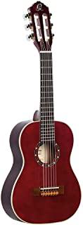 Ortega R121古典吉他 丝绸般光滑表面 带优质吉他包 Weinrot 1/4