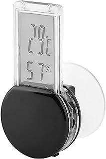 FAMKIT 防水电子湿度计温度计 爬行动物湿度温度监测器 黑色