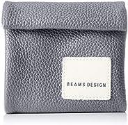 Beams Design 反光 带拉链零钱包三折钱包 BMMW9BS3