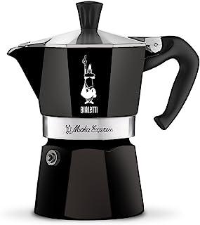 Bialetti 比乐蒂 Moka Express 意式咖啡壶,铝制,黑色,1杯容量