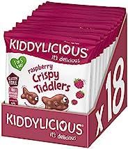 kiddylicious 孩之味 覆盆子清脆教女童 12 克(18 件装)