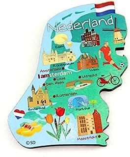 Netherlands Decowood 特大木磁铁