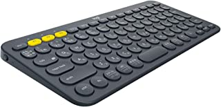 Logicool ロジクール K380 Bluetooth マルチデバイス キーボード (マルチOS: Windows, Mac, iOS, Android, Chrome OS 対応) 黑