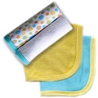 Luvable Friends 4 件装毛巾 黄色 均码