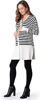 Seraphine 女式孕妇长款条纹开衫