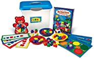 Learning Resources 三只小熊家庭分类卡,图案和游戏活动套装