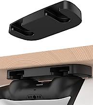 PS5 PS4 控制器桌面支架 Playstation 5 Playstation 4 台下支架适用于 DualSense & DualShock 4 控制器支架 桌面整理和桌面管理