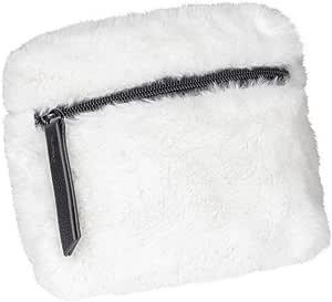 Urban Classics Teddy Mini Beltbag 邮差包,15 厘米 白色(米白色) One Size 白色(米白色)