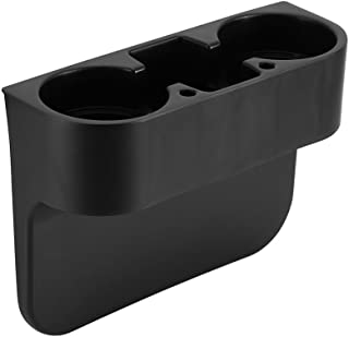 EEEKit 汽车座椅接缝楔形杯架,手机支架,食品饮料瓶架,存储整理器多功能手套箱汽车配件