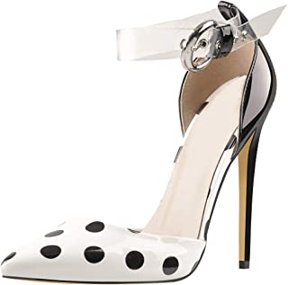 MissHeel 透明踝带高跟鞋 细高跟