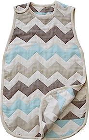 Sandesica 柔软6层纱布睡袋 L尺寸(2岁~7岁左右) [対象] 0ヶ月 ~ シェブロンSX(NEW)